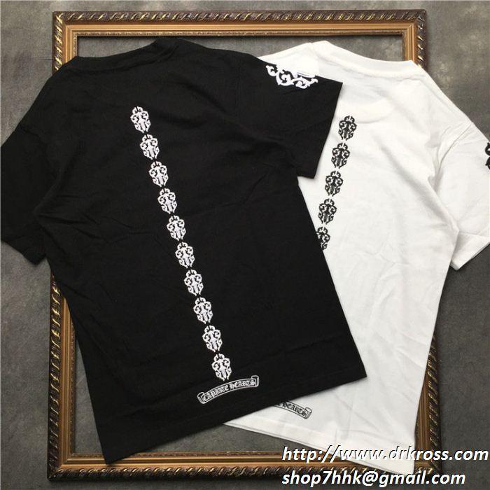 2019年春夏の流行アイテム 2色可選 chrome hearts 個性を表現する クロムハーツ半袖tシャツ