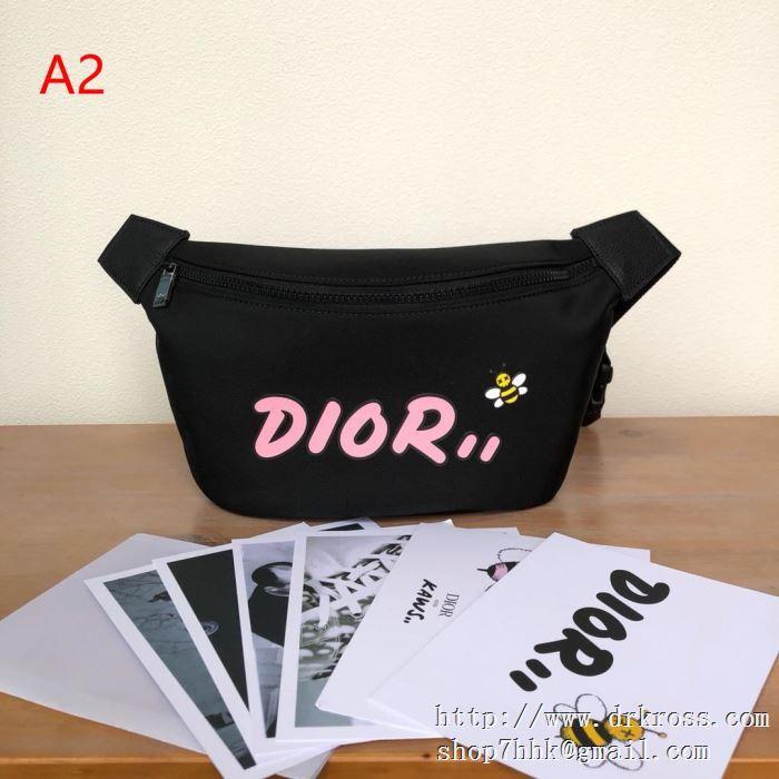 限定商品を手に入れるには ディオール dior x kaws コピー ナイロン ウエストバッグ メンズファッション バッグ ショルダーバッグ
